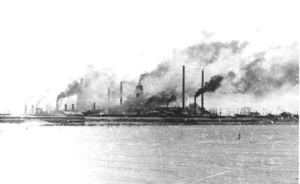 9 Панорама завода 1954 год