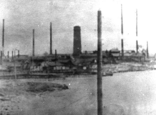 14 Завод перед затоплением 1956 год