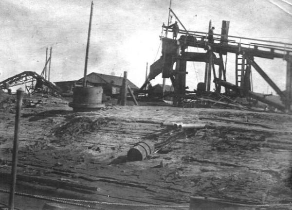 29 Камская перевалочная база. 1949 год