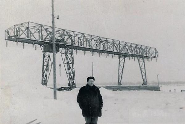 30 Усть - Чёрмоз. Камский причал. 1954 год на фото В.Л.Корроль