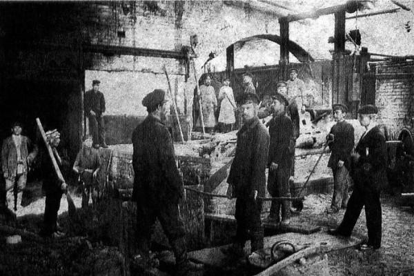 38 Литейный цех. 1913 год