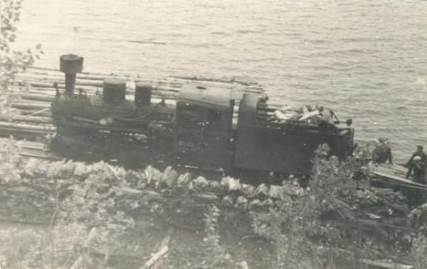 45 УЖД Чёрмоз - Онино. 1953 год (предположительно)
