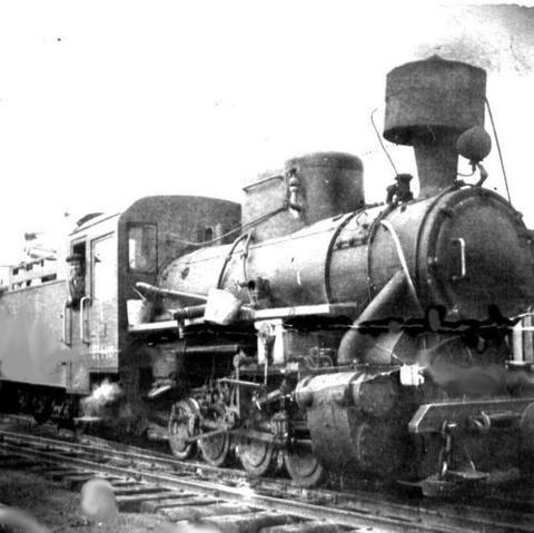 46 Кукушка- чёрмозский паровозик. 1948 год