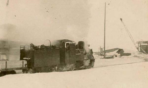 47 Усть - Чёрмоз, камский причал. 1954