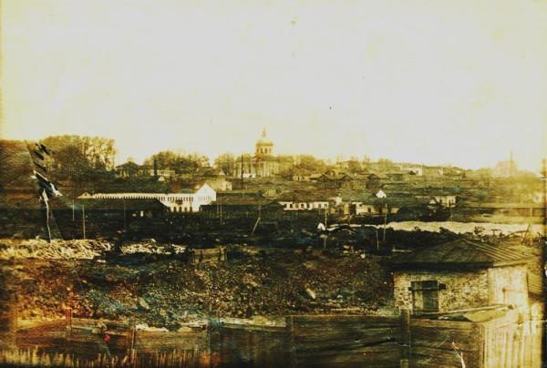 56 Панорама Горы и завода со стороны Подгоры (Усть - Чёрмоз)