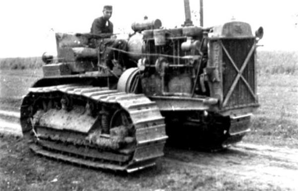 76 Трактор Сталинец 1941 год (предположительно)