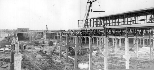 6 Панорама строительства корпусов завода «Камкабель».