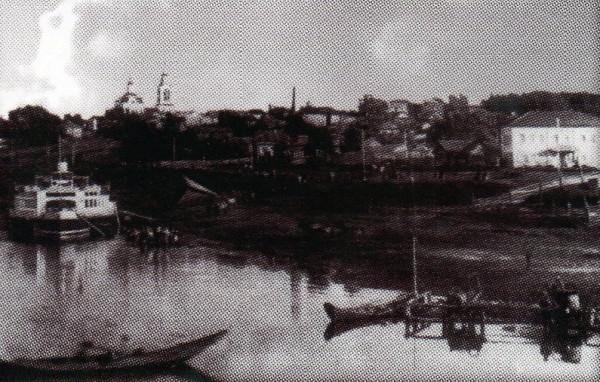 2 Пристань города Туринска