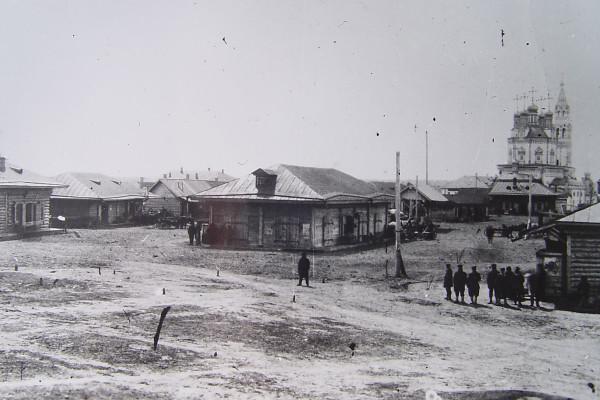 2  Верхотурье. Торговая площадь, 1900 г.