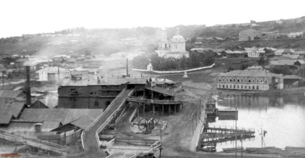 2 Панорама Н-Сергинского завода с Аптечной горы.