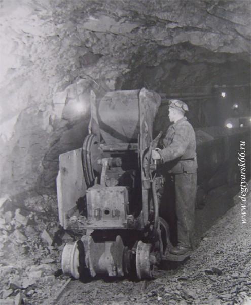 11 Уборка руды машиной ПМЛ-5