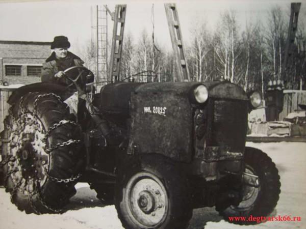 19 Сердюков И.Т.- тракторист