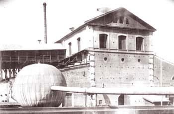3 Доменный цех завода. Конец XIX века