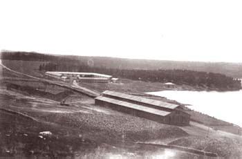 13 Конный двор и угольная площадь Сысертского завода. Конец XIX века