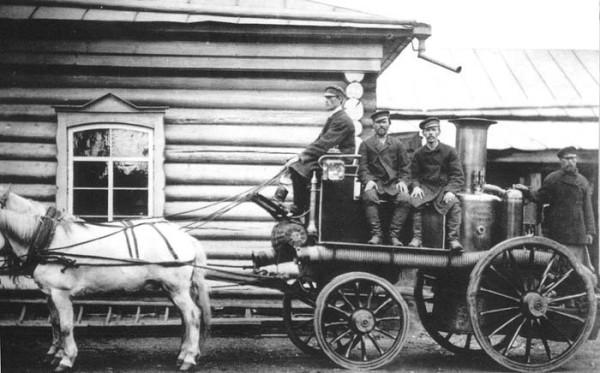 16 Сысертская пожарная команда