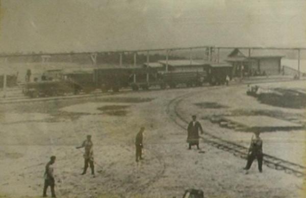 2 1898 год. Общий вид станции Алапаевск I Алапаевской узкоколейной железной дороги