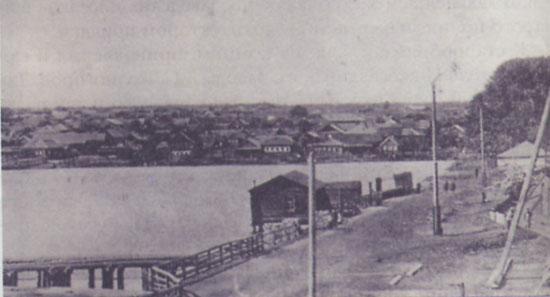 1 Пруд и поселок Верхнесалдинского завода