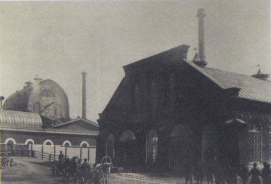 4 Верхнесалдинский завод. Здание нового мартена