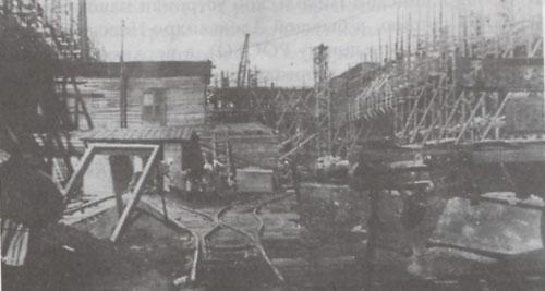 10 Строительство завода Стальмост. Начало 1930-х гг.