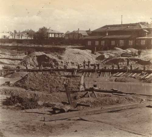 1 Березовский прииск. Фото начала XX века