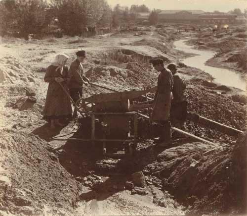 3 Добыча золота старателями на Березовском прииске