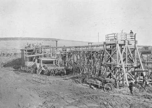 7 Золотопромывальная фабрика на Березовском прииске