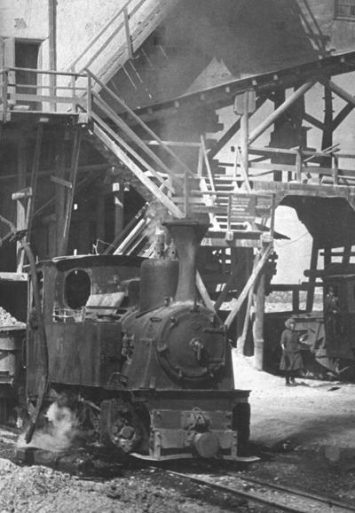 24 Фабрика № 1. Дробилка на территории Южного Рудоуправления. 1952 г.