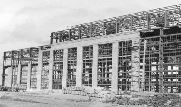 8 1957 год. Цех N 1. (сейчас ОАО «Серовский завод ферросплавов» )