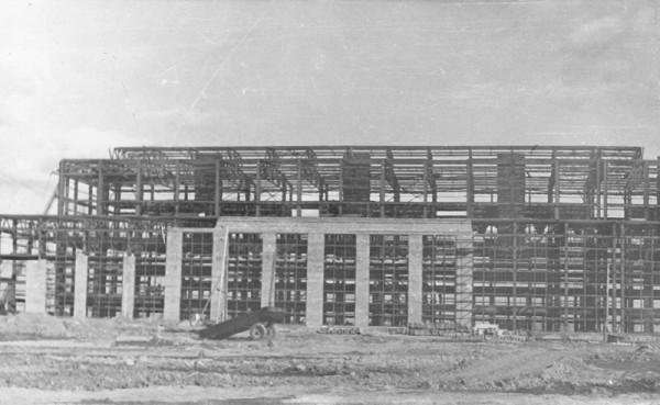 9 1957 год. Цех N 1. (сейчас ОАО «Серовский завод ферросплавов» )