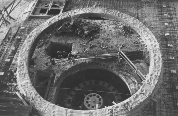 10 Опорные конструкции для закрытой печи (сейчас ОАО «Серовский завод ферросплавов» )