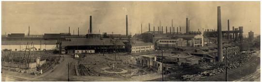 15 Панорама завода, 1940 г. (сейчас ОАО «Металлургический завод им. А.К. Серова»)