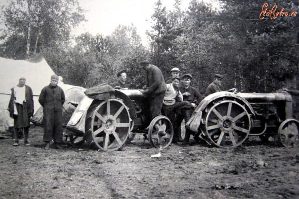 11 первые трактора для подсобного хозяйства
