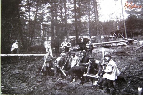 20 фундамент Динасового завода. 1930 г.