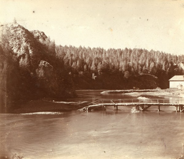 11 С. М. Прокудин-Горский. Карабатовская мельница на р. Исети. 1909 год