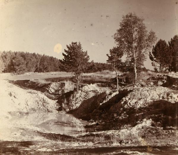 15 . М. Прокудин-Горский. Место добычи фарфоровой глины близ Каменского Завода. 1909 год