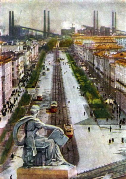 27 Проспект Ленина. Фото Я. Босина