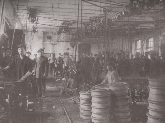 2 1930 год. Литейный цех, впоследствии кузнечный  (сейчас ОАО «Петуховский литейно-механический завод»)