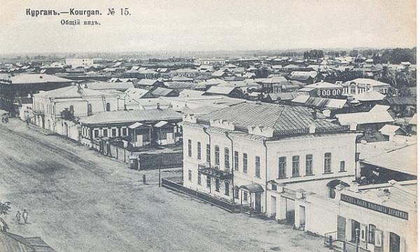 13 Курган. Общий вид.  1905 г.