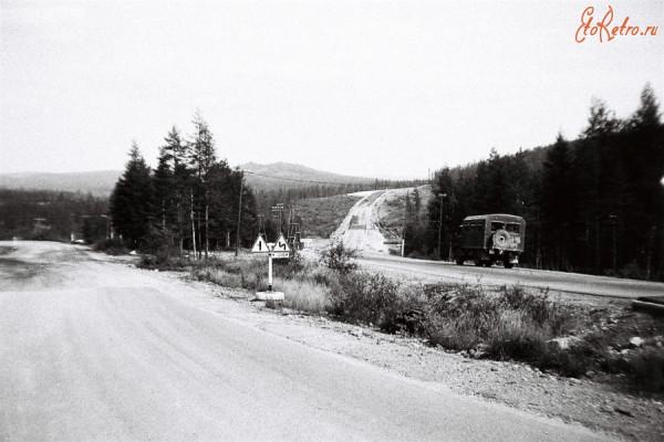 7 Развилка - дорога на Якутск- дорога на СМУ-3 УС-1 РРЛ БАМ