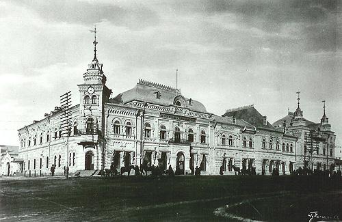 1 Универмаг товарищества Кунст и Альберс в 1911 году