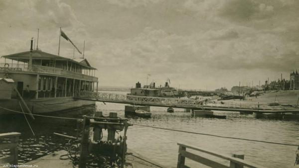26 Пристань товарищества Амурского пароходства