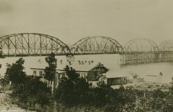 49 Мост через р. Зея. Белогорье. 1913 г.
