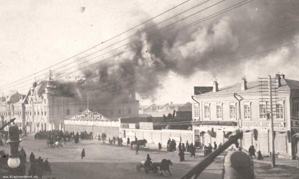 51 Улица Большая (Ленина). Пожар.