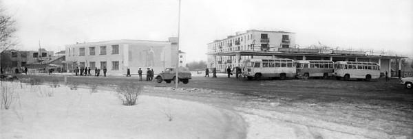 5 Автостанция. 70-е годы, Елизово
