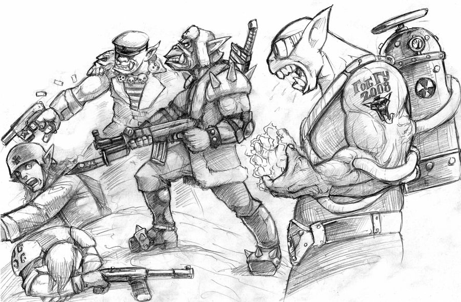 goblins_scetch_by_flick_the_thief-d3aokuz