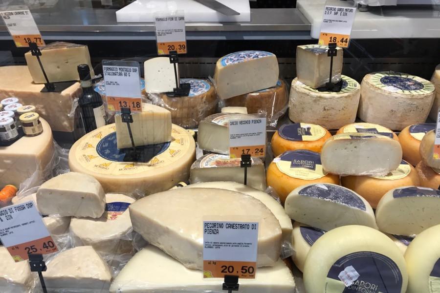 Сколько стоит сыр в Италии