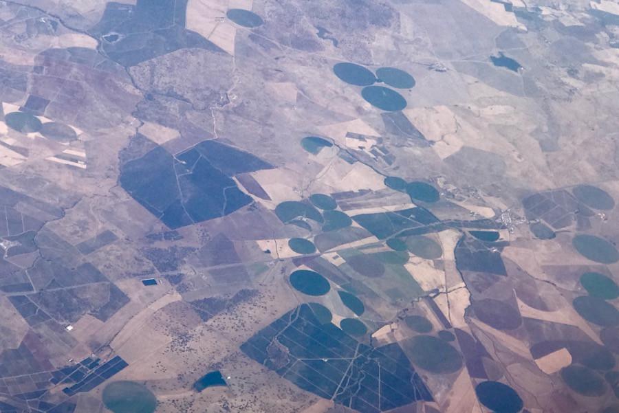 Ровные окружности неизвестного происхождения на полях Португалии
