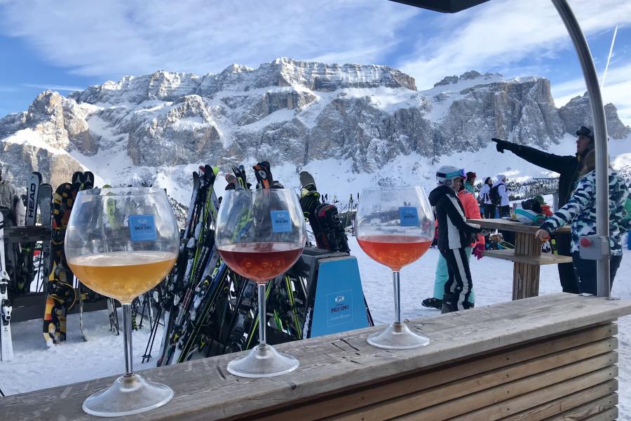 Кто больше выпивает в Альпах - русские, немцы или итальянцы, лыжники или сноубордисты