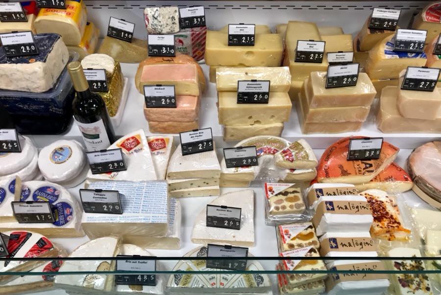 Сколько стоит сыр в магазинах Швейцарии