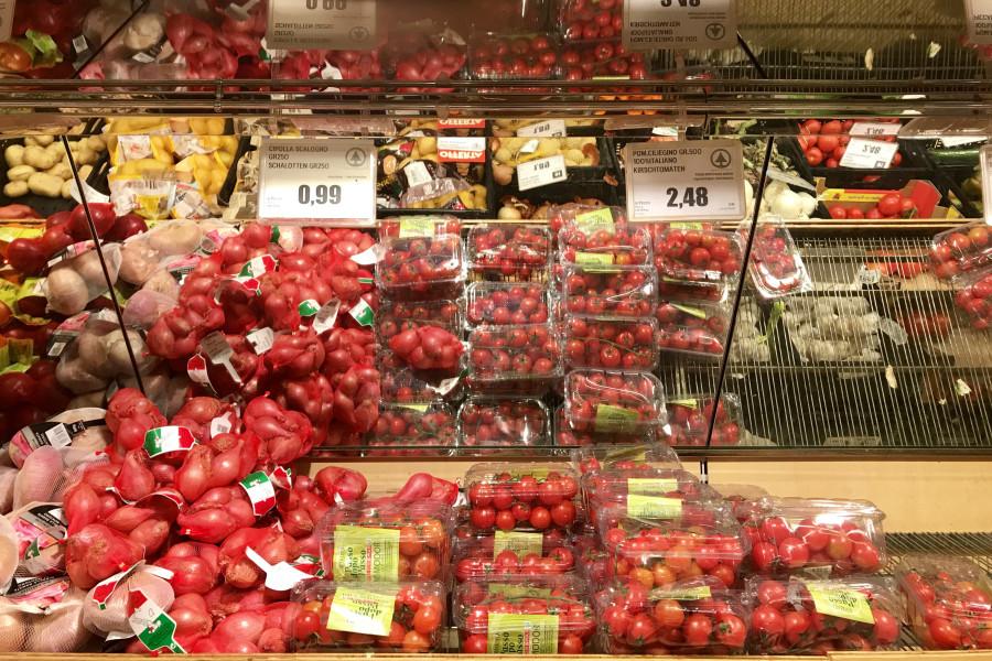Вот такие цены на продукты в Италии